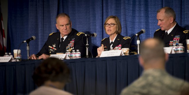 Panel at the Association of the United States Army annual meeting