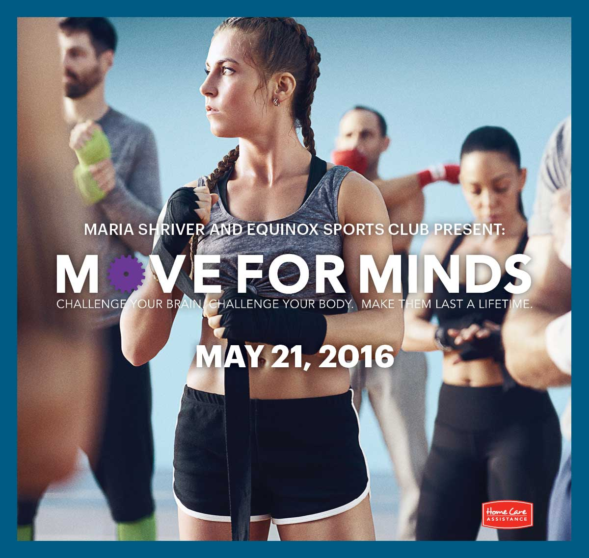 Maria Shriver's Move for Minds Event